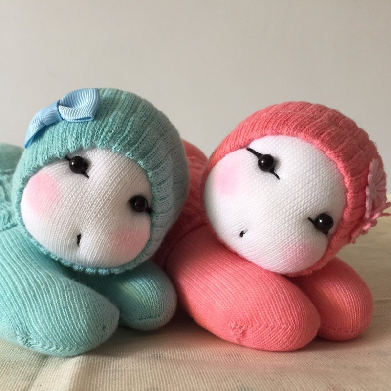 Kobayashi ~ baby Q version even -C107 spring couple children