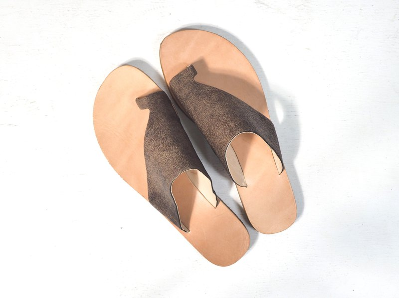Love Flower Sandals - Bronze Goat