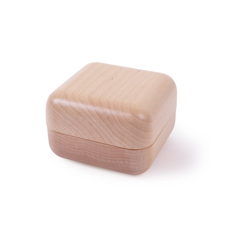 【Jeantopia】Zhiyin selection solid wood magnetic ring box | 1150811
