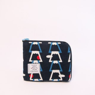 Ticket card coin purse <Mount Fuji>