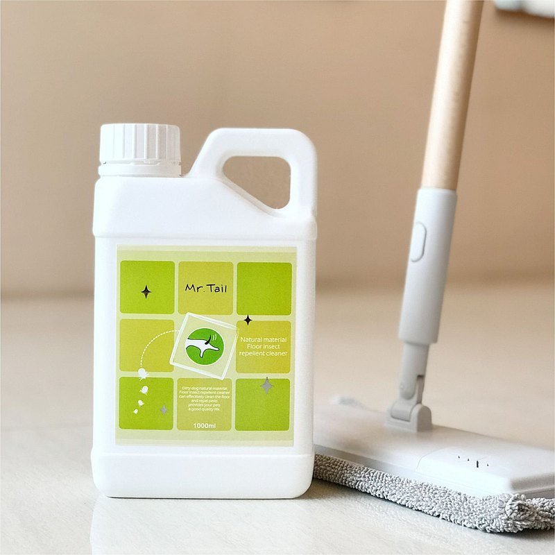 Natural material Floor insect  repellent cleaner