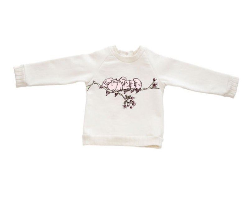 Cherry Tree Long Sleeve Top