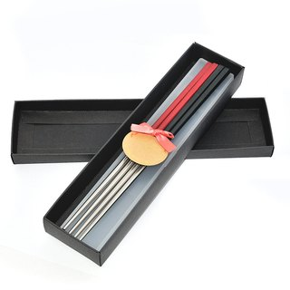 Taiwan's first chopsticks. Lovers Gift Sets. Harmony chopsticks group (with lettering)