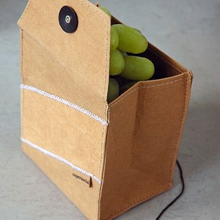 Green food bags S / brown