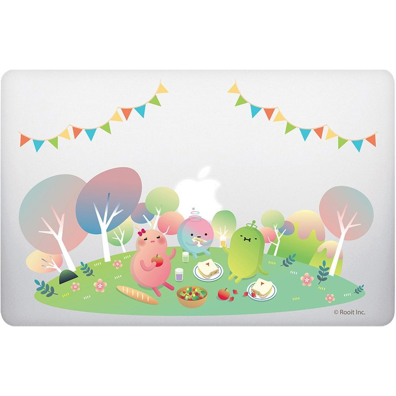No personality star Roo-[picnic party] MacbookPro/Air13吋 (transparent), BB01