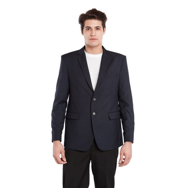 BAUBAX BLAZER multifunction wrinkle-free jacket (M) - Navy