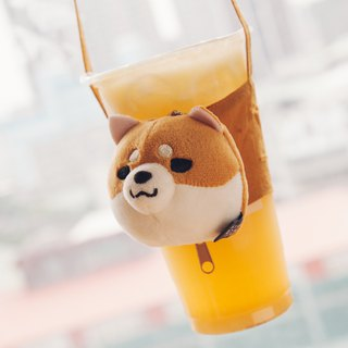 Millet Shiba Inu drink bag purse yellow firewood version Ava