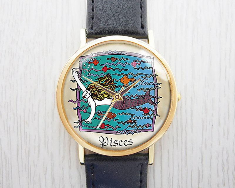 Pisces - Women's Watch / Men's Watch / Neutral Table / Accessories [Special U Design]