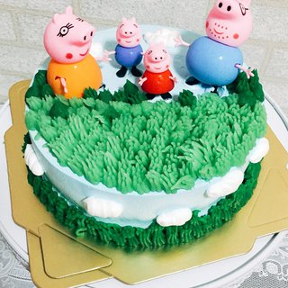 GJ Private Dim Sum Happy Birthday 8 佩 佩 Pepe Pig Cake