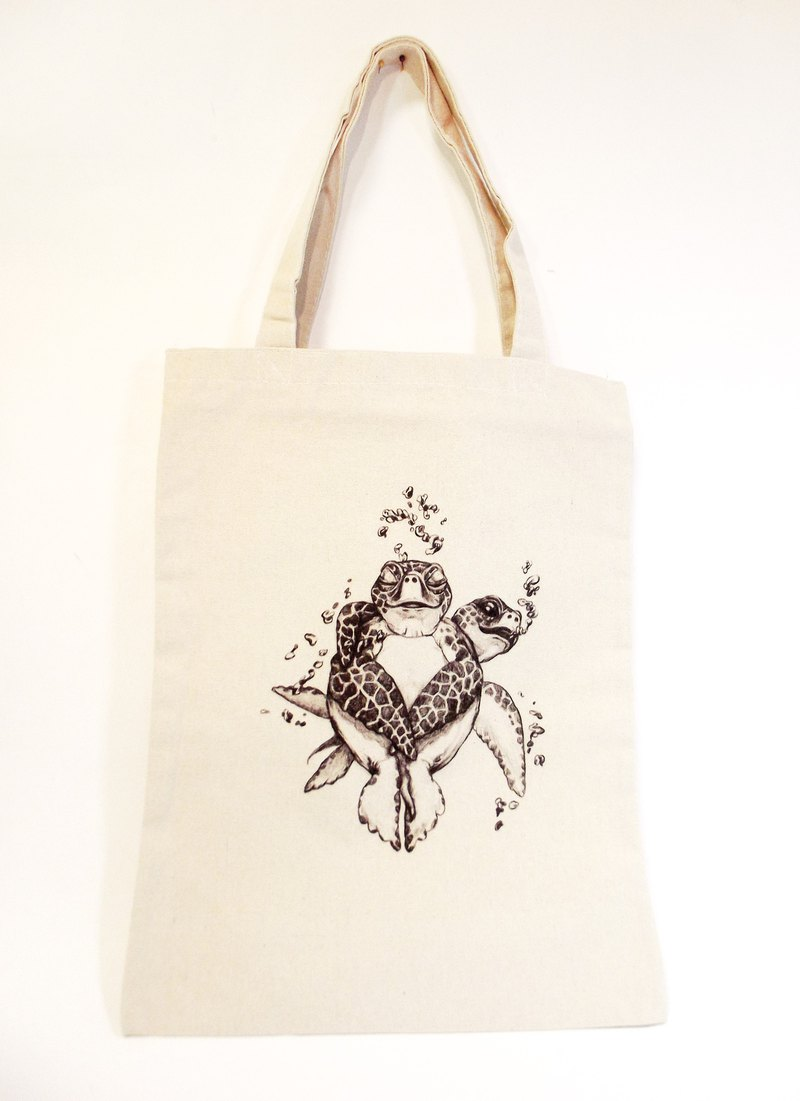 Turtle's Prayer-Eco Bag