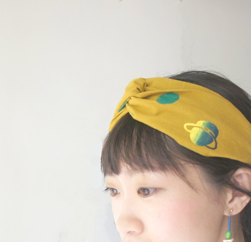 YInke your cutest hair band - mustard planet