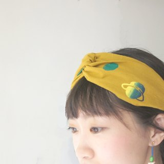 YInke Your Cute Hair Band - Mustard Planet
