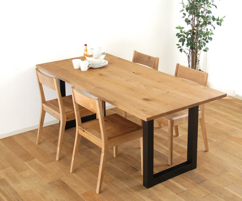 旭川家具 MUKU工房 Original DAICHI TABLE(大地餐桌)