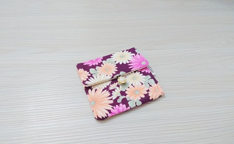 Seal Bag Hygiene Cotton Cloth Bag Cosmetic Bag Condon Bag AK-87 Flower Series