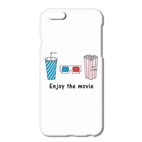 [iPhoneケース] enjoy the movie