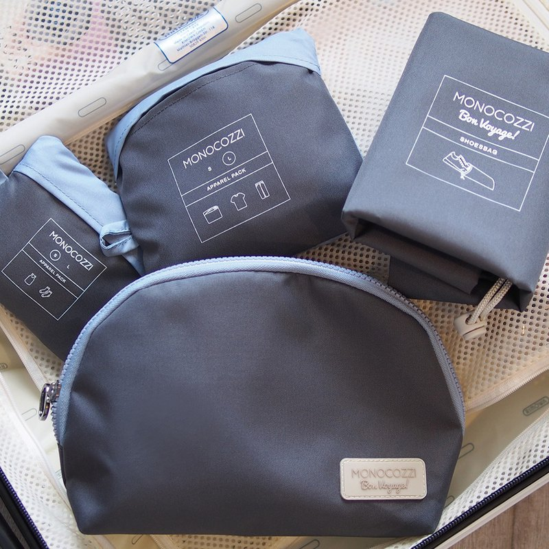 Bon Voyage | Travel Bags 4 in 1 Set - Charcoal