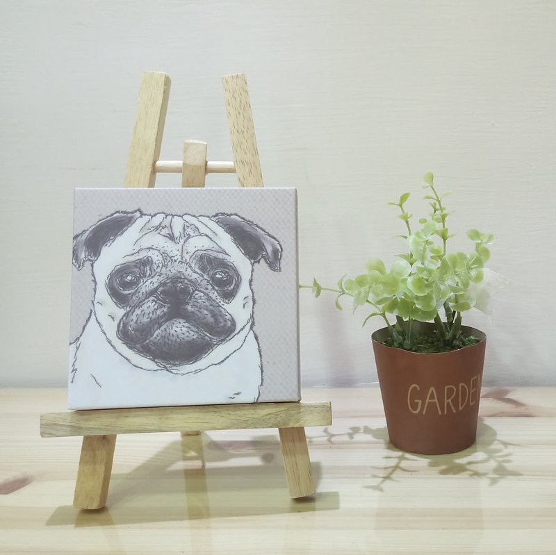 Small picture frame - lightweight frameless painting - Bago