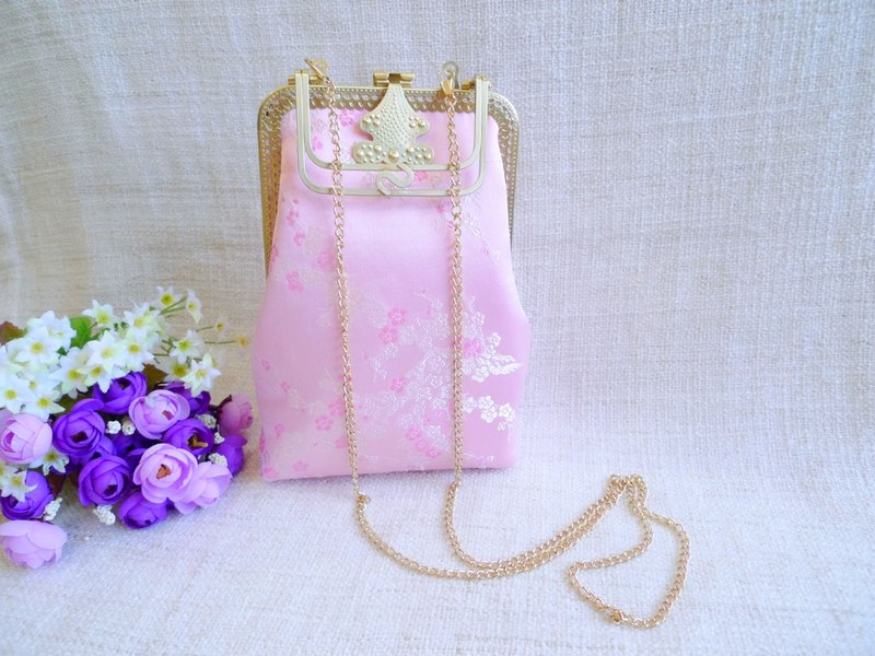 Plum flower flower - cheongsam bag / evening bag / cheongsam bag / mobile phone bag / cross-body bag / birthday gift
