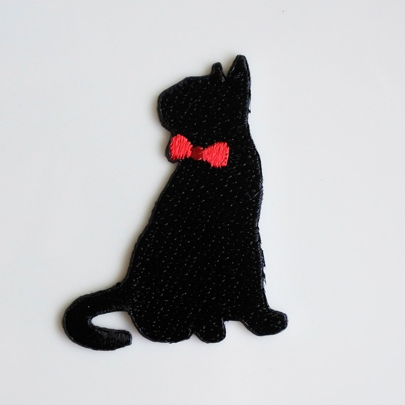 Black Cat Electric Embroidery Film-I (Ironing required)