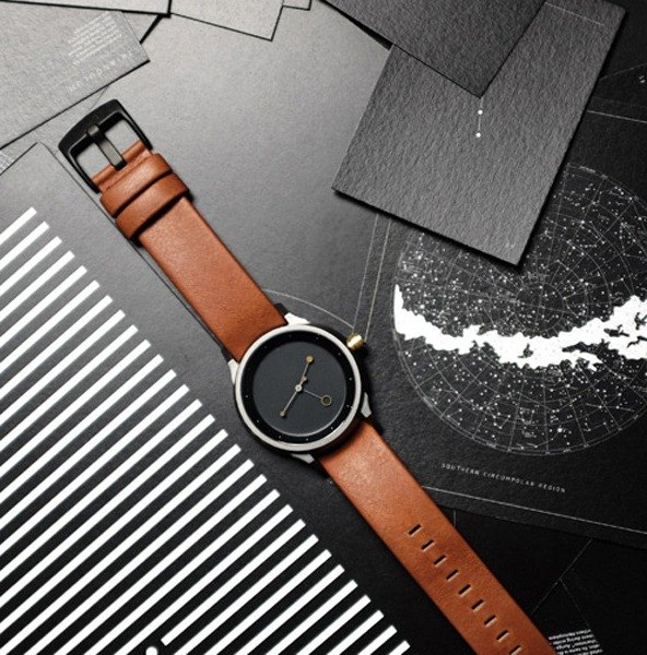 Lima Watch Astronomer Grey