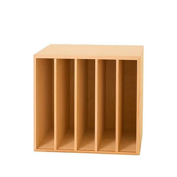 Storage. Small nest storage box (five boxes) (natural wood color)-[love door]