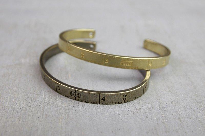 """""""Ruler"""" Bracelet 銅製直尺手環(銅原色)"""
