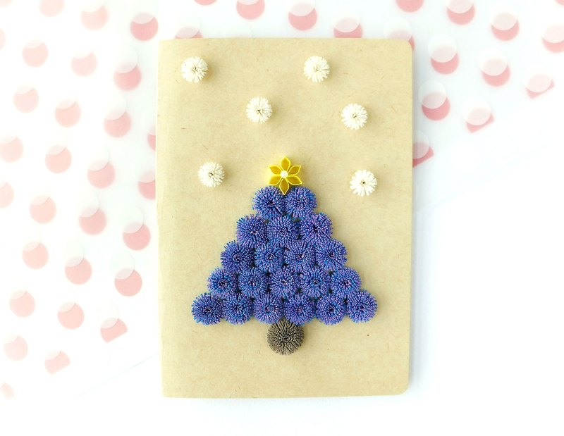 Hand made decorative cards-Christmas tree