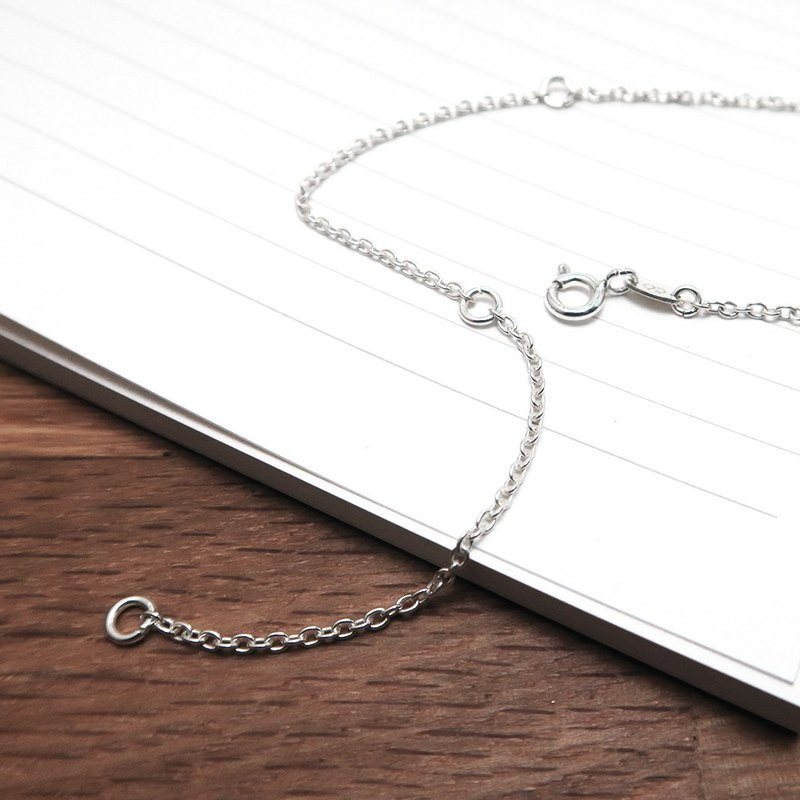3Ways Classic Circle Chain 16-18-20吋 Three-in-One Silver Chain 925 Sterling Silver Necklace