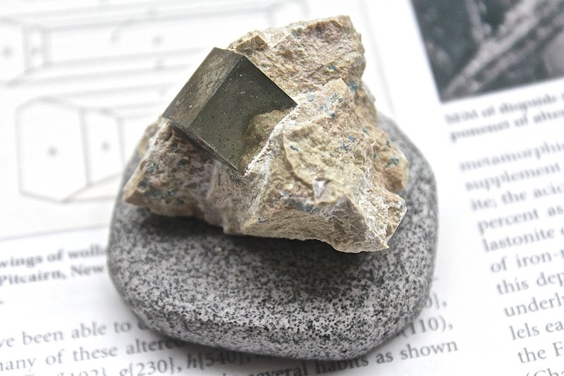 Shizu SHIZAI - Spanish Pyrite - Foolish Gold - With Base