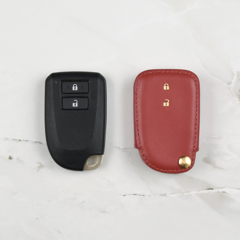 Toyota Yaris car key holster made to order