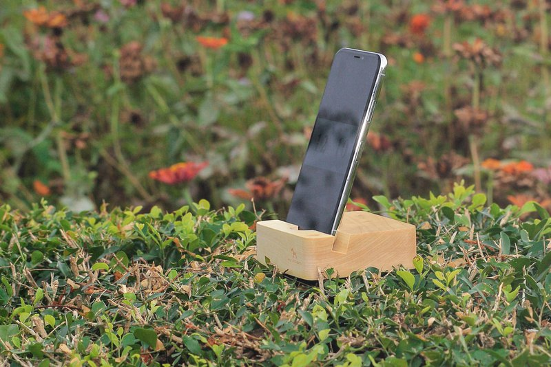 Opheya mobile phone holder (Maple / Walnut)