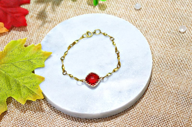 Red brass bracelet _ * * ➪ Limited X1