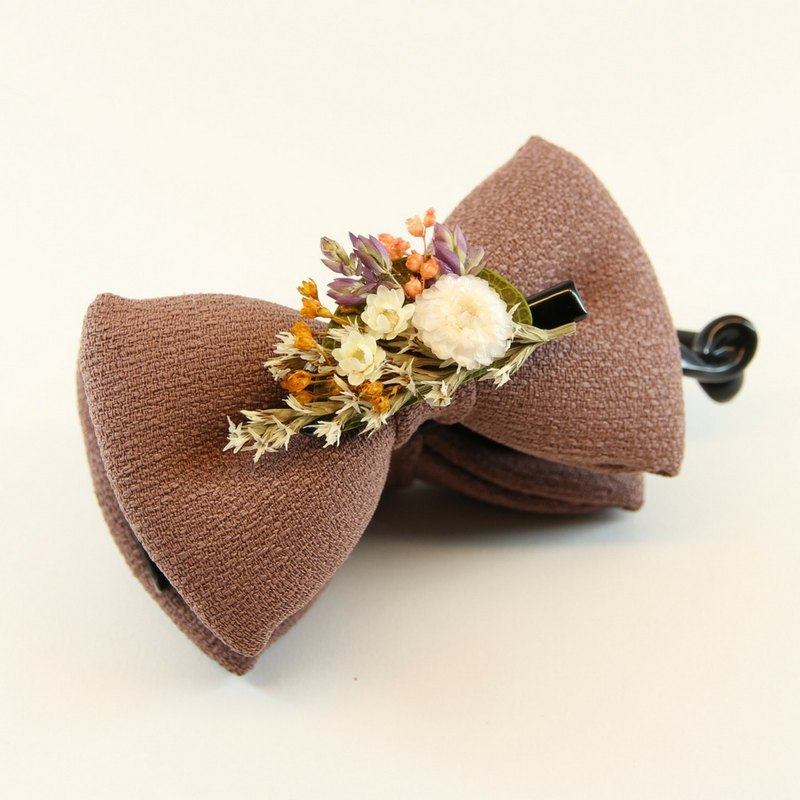 Dry flower series combination banana clip