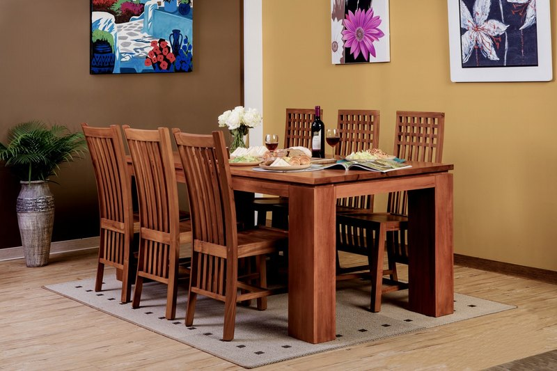Dining Table-Madera / Mandela Dining Table