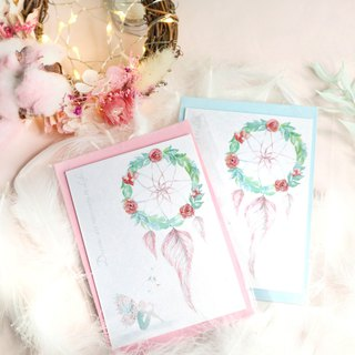 Floral Dreamcatcher Card - Original Design