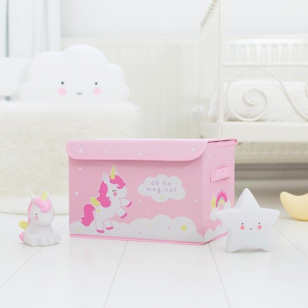 Pop-up storage box: Unicorn