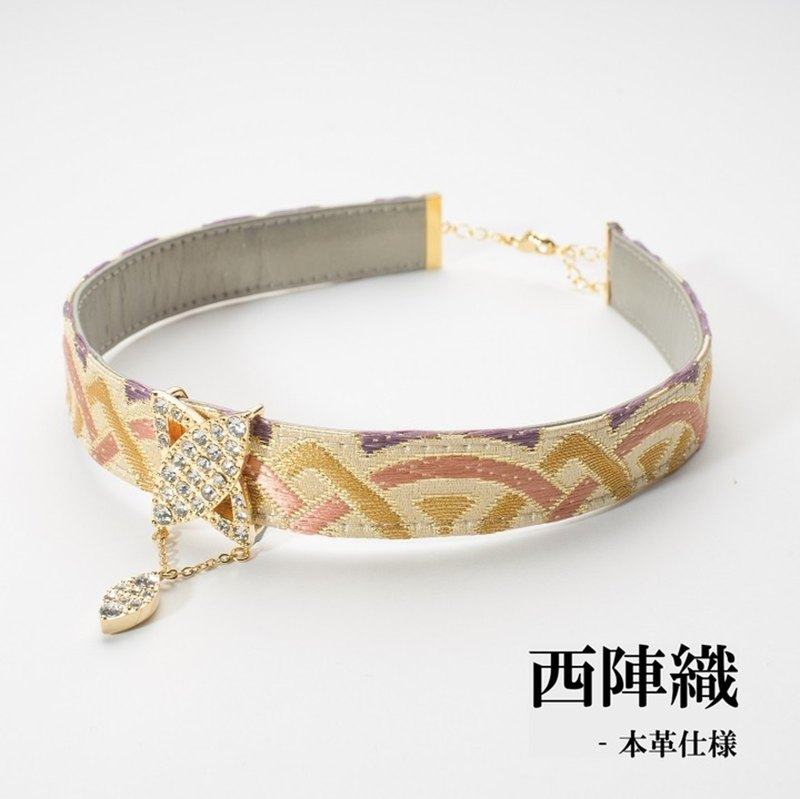choker japan nishijinori vivid necklacechoker beautiful チョーカー 西陣織 日本製
