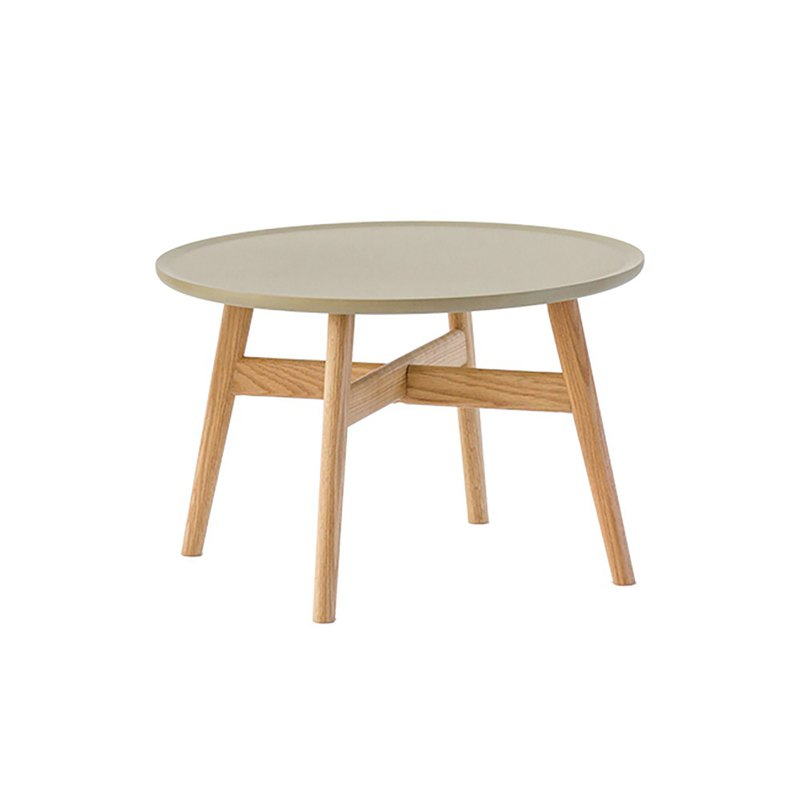 FACT DESIGN-Japanese and White Oak Round Table (Large)