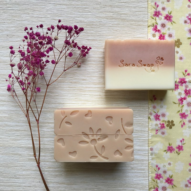 Rose Petitgrain I Cold Handmade Soap I Moisturizing Type I Sensitive/Dry Skin