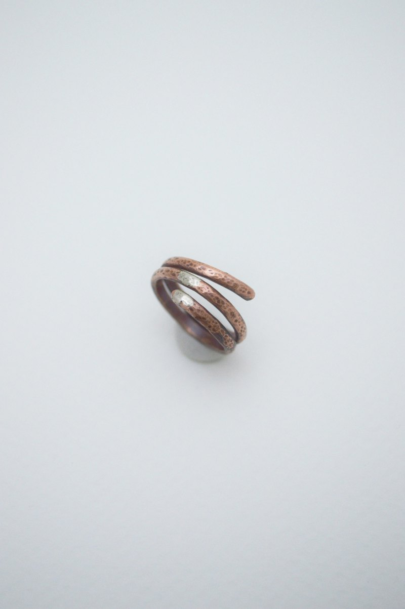 Surrounding-no.7‧Wrap around copper ring