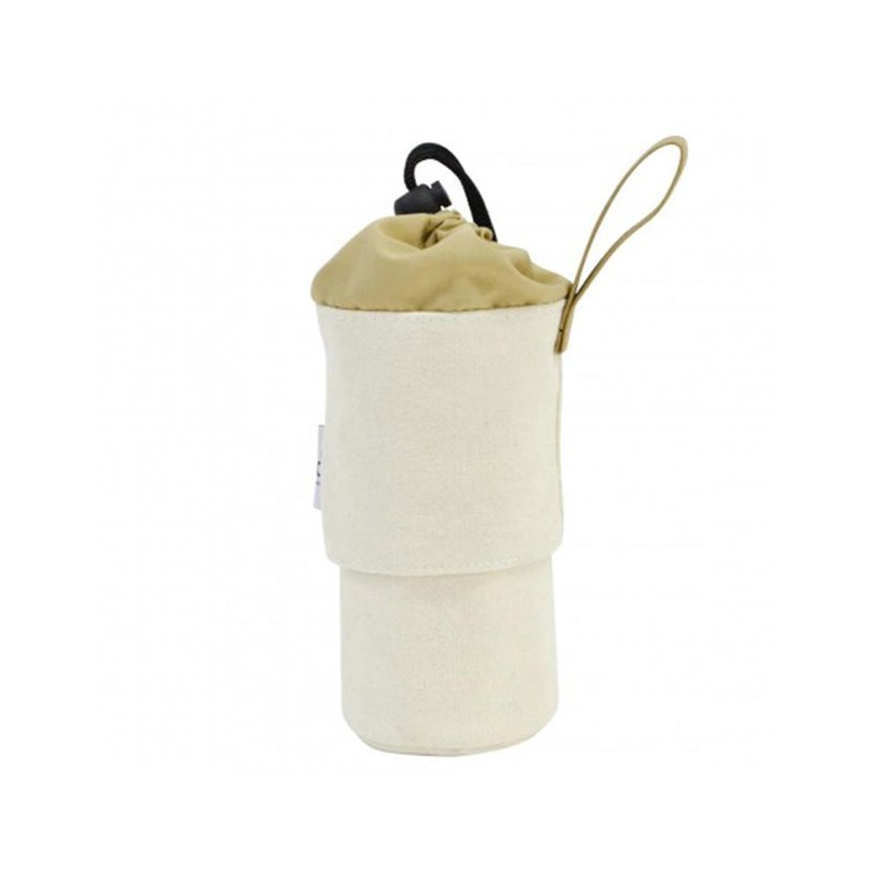 [Show Xifupin] CB tannin series telescopic cool portable pot bag-simple white