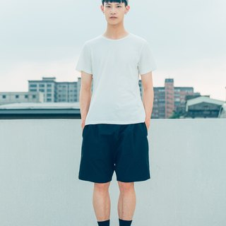 Air - Shorts (Black) Plain Weave Organic Cotton