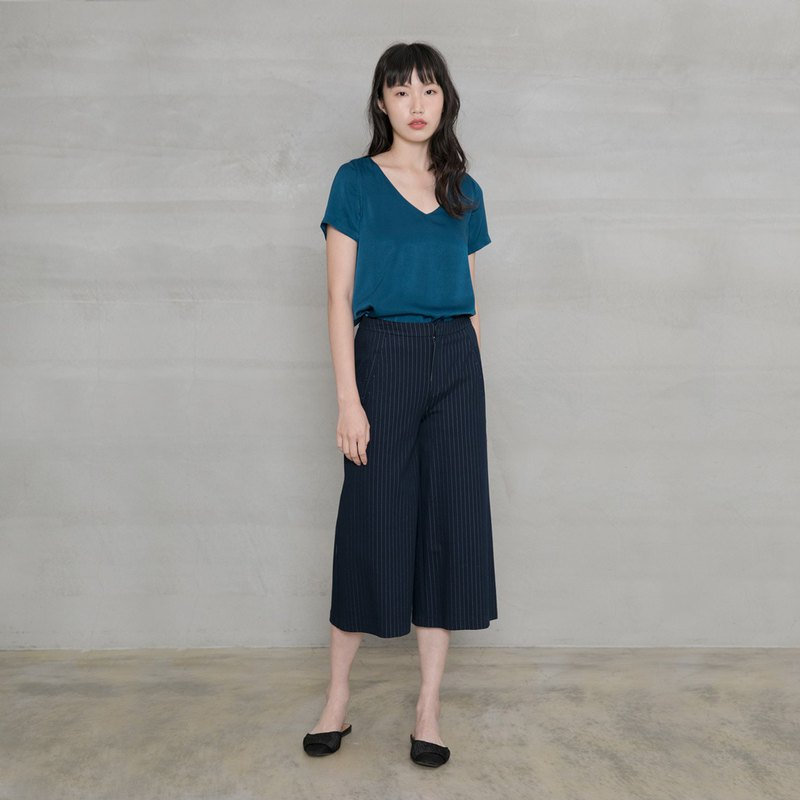 優雅女紳七分寬褲 Exquisite Lady Tailored Culotte