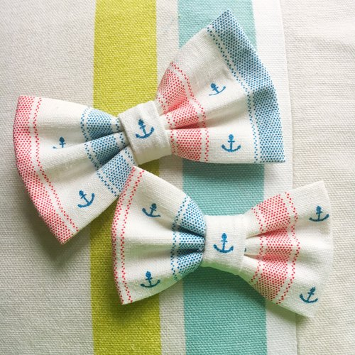 NAUTICAL DREAMS Pet Bowtie Collar - Dog and Cat Bowtie