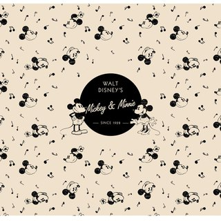 InfoThink Mickey 90th Anniversary Series Mouse Mat - 90th Anniversary Limited Edition Vintage Edition