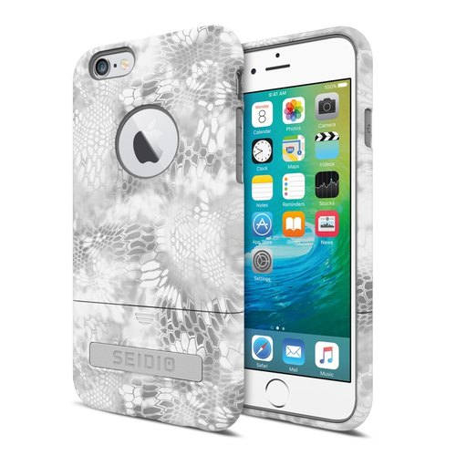 迷彩聯名保護殼/手機殼 for iPhone 6 Plus / 6s Plus-極地雪怪-SURFACE™ x KRYPTEK 系列