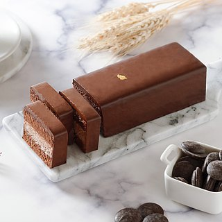 Ai Bo Suo [French silk chocolate cake] Apple Daily cake third place
