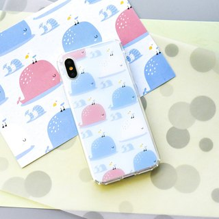 Animal【Wandering whale】Onor Crystals Phone Case