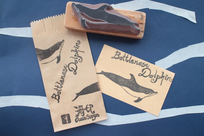 Cetacea Stamps (Bottlenose Dolphin)