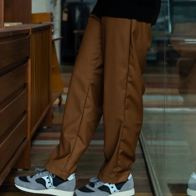 hao Orange Brown Easy Pants